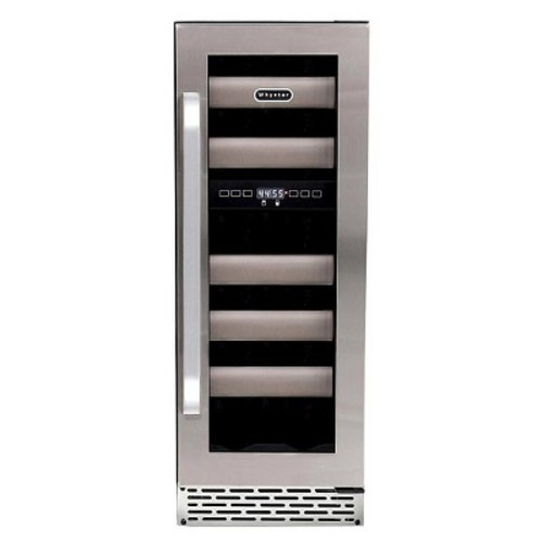 Whynter - Elite 17-Bottle Wine Refrigerator - Stainless Steel