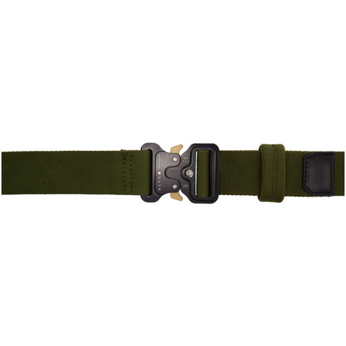 Green Rollercoaster Belt