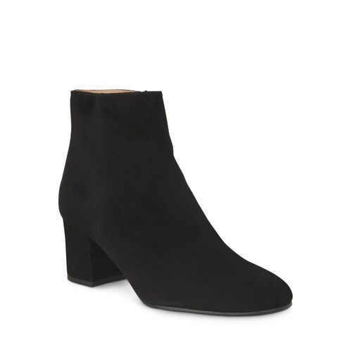WHISTLES Logan Square Toe Ankle Booties