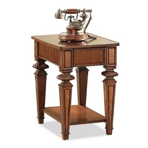 World Menagerie Leander Wood End Table