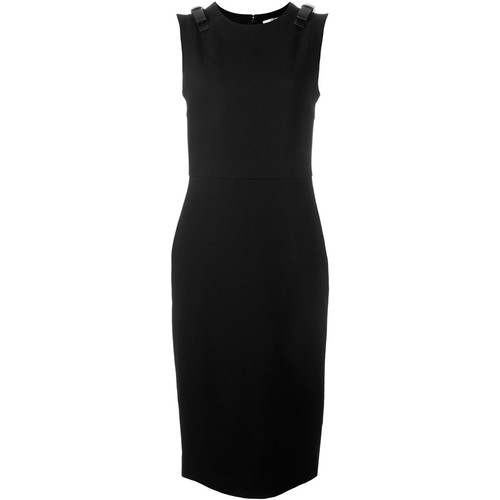 FENDI Bow Shoulder Dress