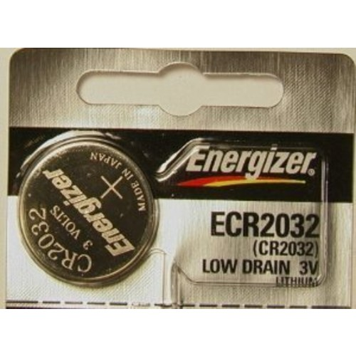 Energizer 2032 3V Lithium Battery Retail Packaging, 1-Count