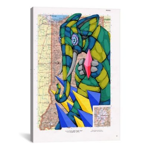 iCanvas Holding the Rarity by Ric Stultz Graphic Art on Wrapped Canvas; 26'' H x 18'' W x 0.75'' D