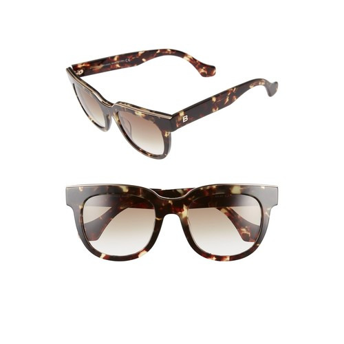 BALENCIAGA Paris Rectangular 52Mm Sunglasses