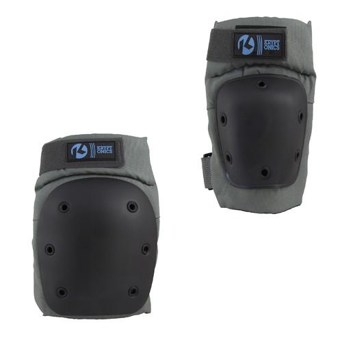 Kryptonics Pro Small/Medium Knee & Elbow Pad Set - Battleship