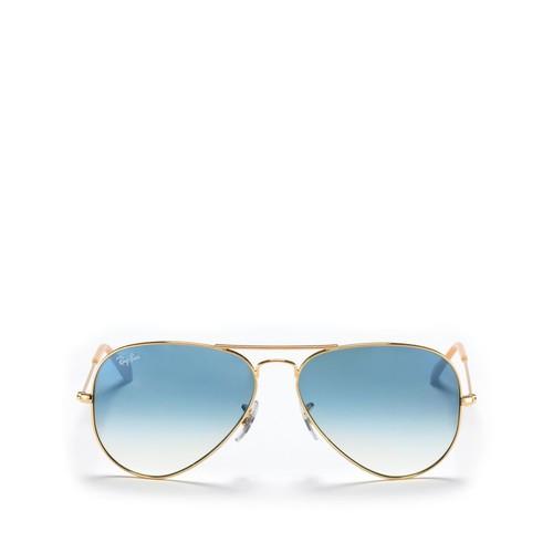 RAY-BAN Aviator Sunglasses, 58Mm