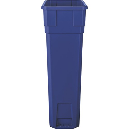 Suncast 23-Gallon Slim Trash Can  Blue, Model# TCN2030