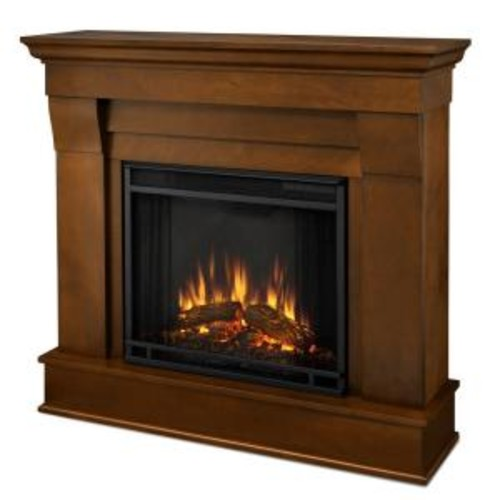 Real Flame Chateau 41 in. Electric Fireplace in Espresso