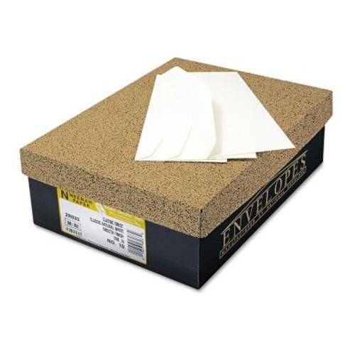 Neenah Paper CLASSIC CREST #10 Envelope, Solar White, 4 1/8 x 9 1/2500/Box (1744000)