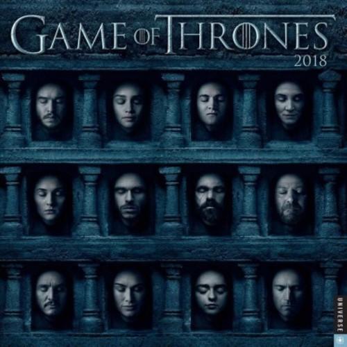 Game of Thrones 2018 Calendar (Paperback)