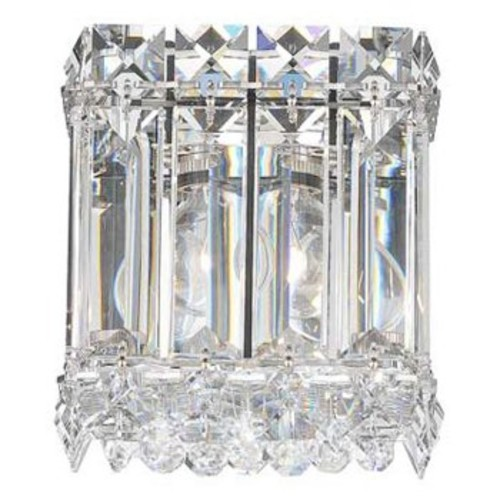 Quantum 2220 Wall Sconce [Crystal Type : SPECTRA Clear; Finish : Polished Chrome]