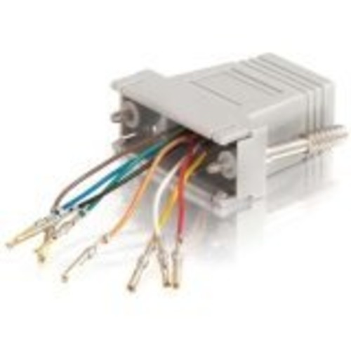C2G/Cables to Go 02925 RJ45 to DB15 Female Modular Adapter [Female]