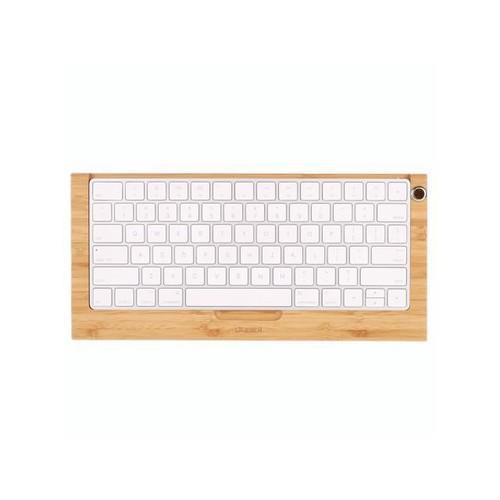 Bamboo Wireless Keyboard Stand Dock Holder Stents for Apple Mac Magic Keyboard Wood Craft Durable Elegant Keyboard stand