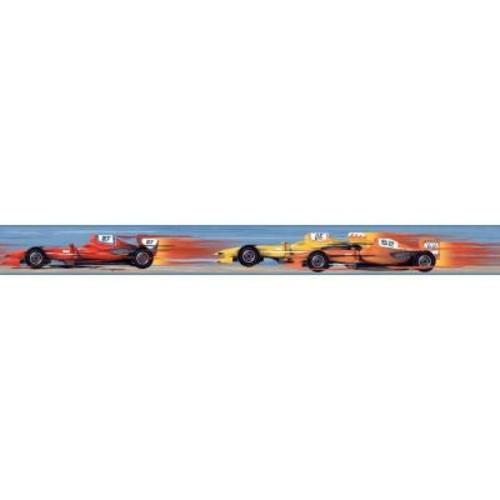 York Wallcoverings Cool Kids Race Car Wallpaper Border