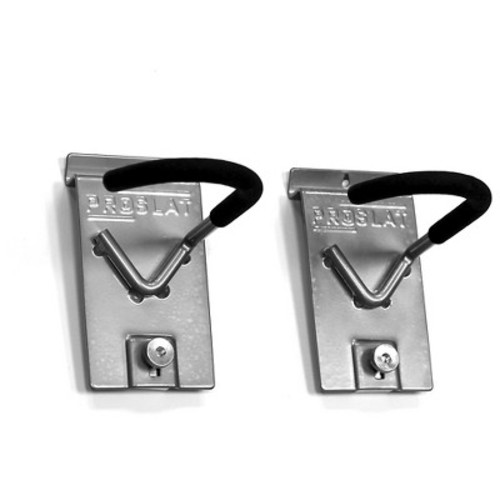 Proslat Vertical Locking Bike Hook (Set of 2)
