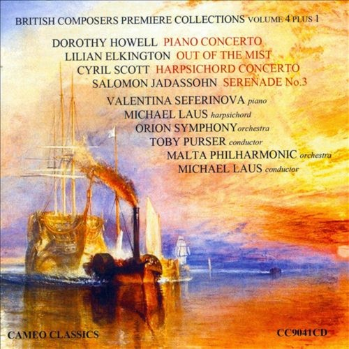 British Composers Premiere Collections, Vol. 4 [CD]