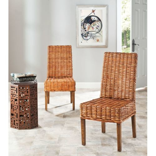 Safavieh Judith Mango Dining Chair in Brown (Set Of 2)