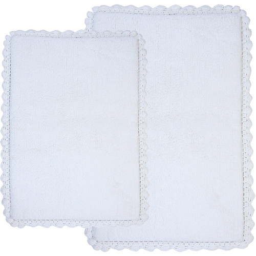 Crochet 2-Piece Bath Rug Set, 21