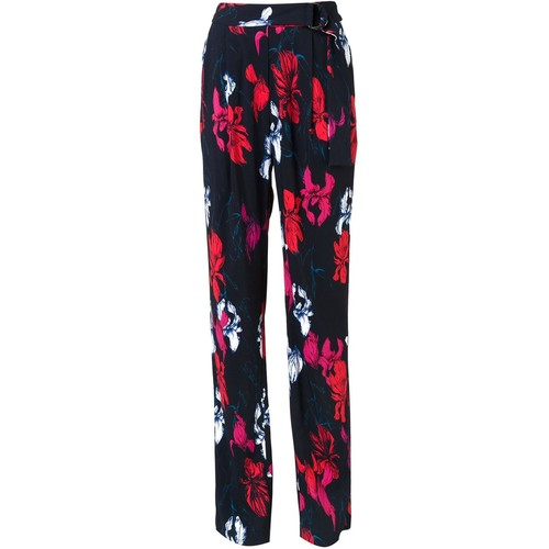 THAKOON Floral Print Trousers