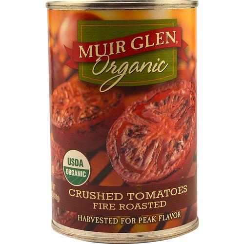 Muir Glen Organic Crushed Tomatoes Fire Roasted -- 14.5 oz