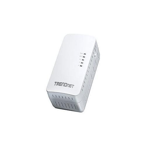 TRENDnet TPL-410AP - Bridge - HomePlug AV (HPAV) - 802.11b/g/n - wall-pluggable