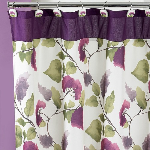 Jasmine Fabric Shower Curtain