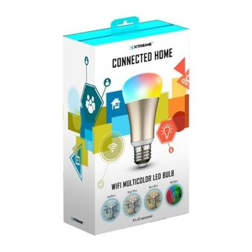 Xtreme Cables Wi-Fi Multicolor LED Bulb