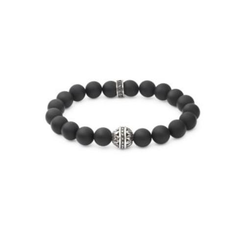 King Baby Studio - Black Onyx and Sterling Silver Bracelet