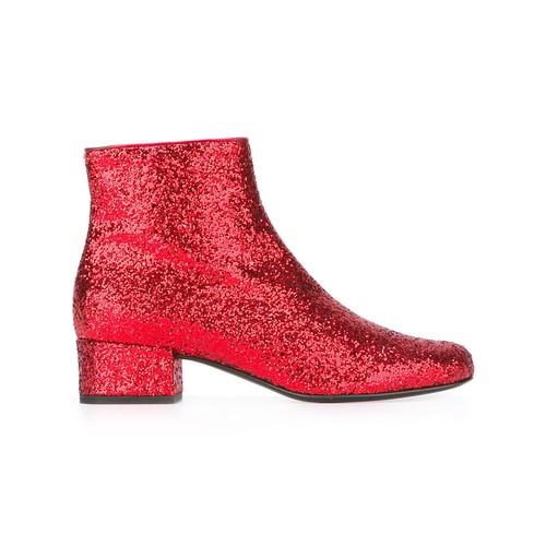 SAINT LAURENT 'Babies 40' Ankle Boots