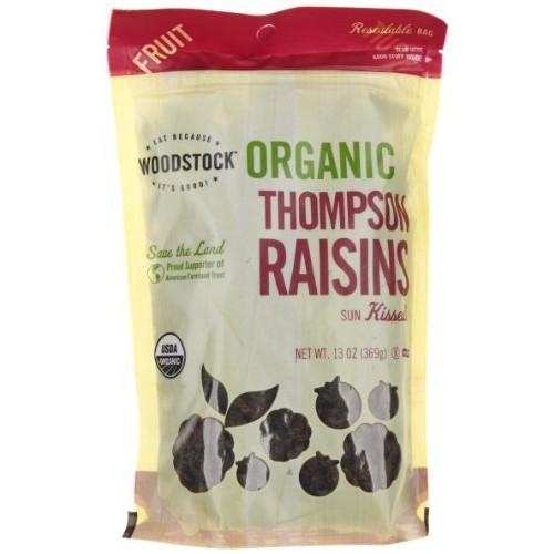 Woodstock Farms Organic Thompson Raisins 16 oz