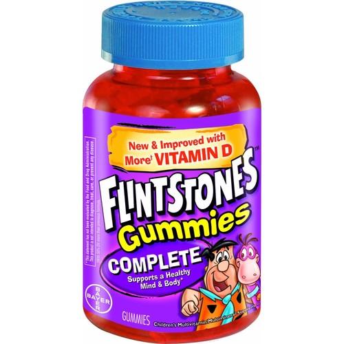 Flintstones Children's Complete Multivitamin Gummies, 60 Count [60 Count]