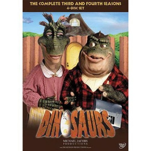 Dinosaurs: The Complete Third and Fourth Seasons [DVD]