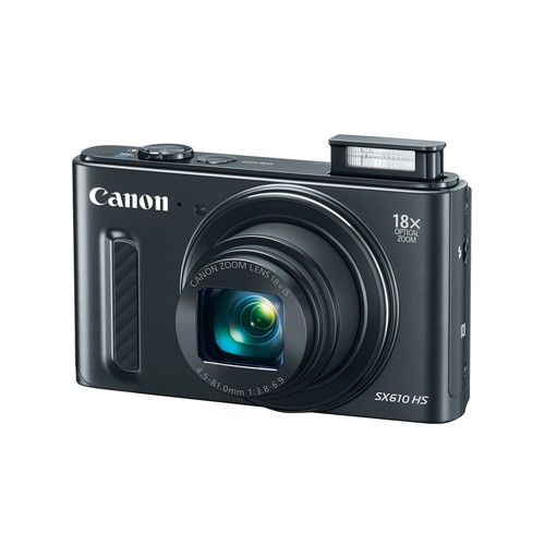 Canon PowerShot SX610 HS 20.2MP Digital Camera (Black)