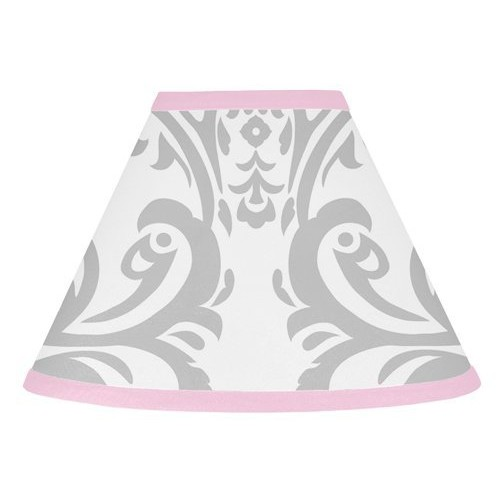 Sweet Jojo Designs Pink, Gray and White Elizabeth Lamp Shade