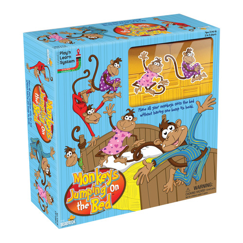 Briarpatch Monkeys Jumping on the Bed Game