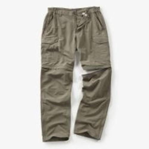 Crag Hoppers Craghoppers Nat Geo Nosilife Convertible Trouser - Mens [Waist Size : 32 in; Length, Alpha : Regular]