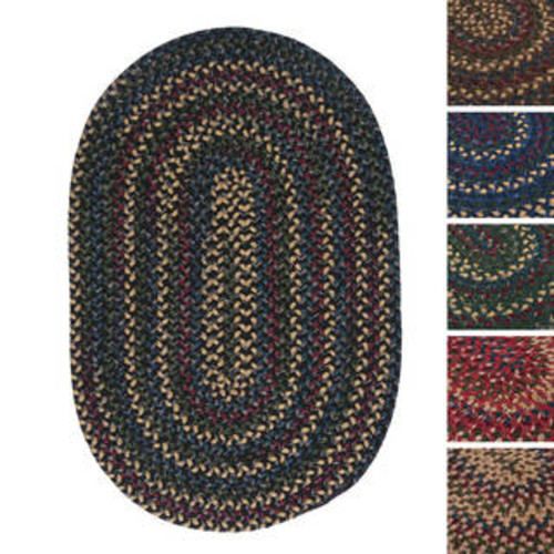 Stable Hill Blackberry Accent Rug (2' x 3')