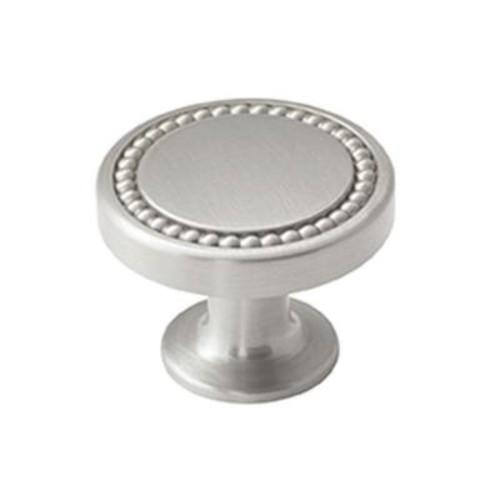 Amerock Carolyne 1-3/8 in. (35 mm) Polished Nickel Cabinet Knob