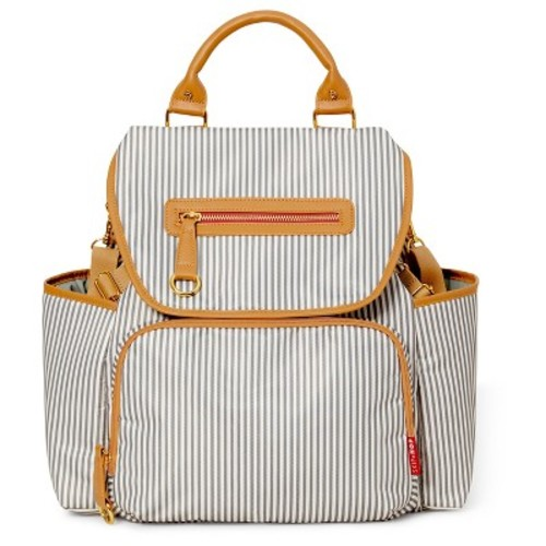 Skip Hop Grand Central Take-It-All Diaper Backpack - French Stripe