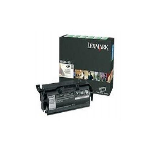Lexmark - Extra High Yield - black - original - toner cartridge LRP, government GSA - for X654de, 656de, 656dte, 658de,