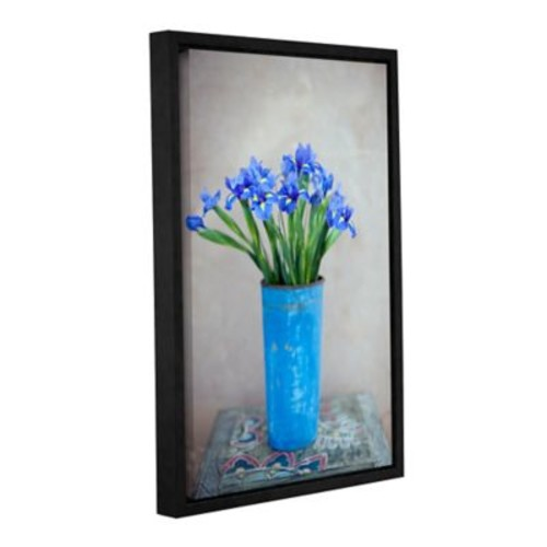 ArtWall Iris Flowers by Elena Ray Framed Photographic Print on Wrapped Canvas; 36'' H x 24'' W