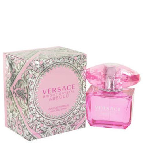 Versace Eau De Parfum Spray 3 Oz Bright Crystal Absolu Perfume By Versace For Women