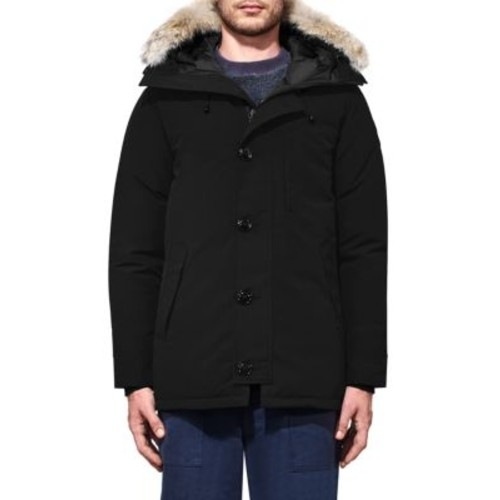CANADA GOOSE Chateau Coyote Fur-Trim Down Parka