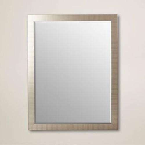 itude Run Framed Wall Mirror; 42'' H x 30'' W