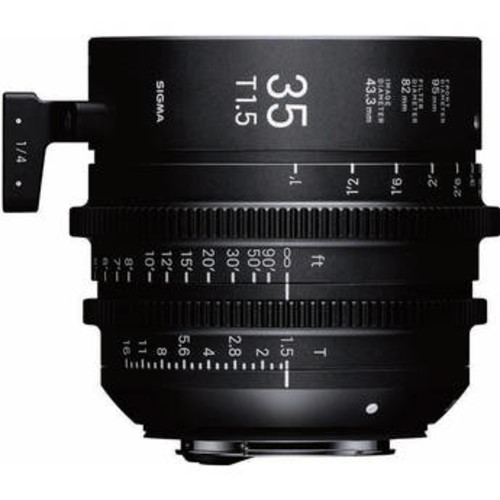 35mm T1.5 FF High-Speed Prime (EF Mount)