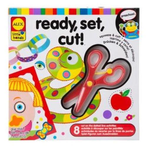 ALEX Toys Little Hands Ready, Set, Cut