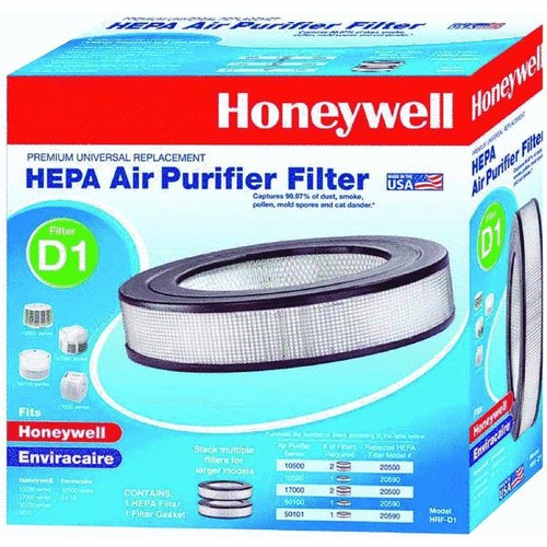 Honeywell Universal True Replacement HEPA Air Purifier Filter - HRF-D1