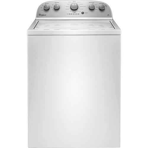 Whirlpool - 3.5 Cu. Ft. 12-Cycle Top-Loading Washer - White