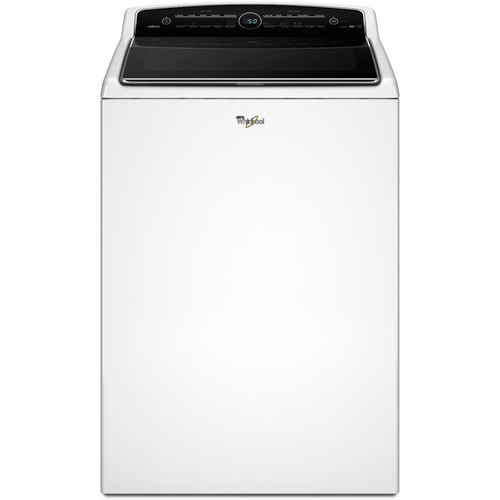 Whirlpool WTW8500DW 5.3 cu. ft. Cabrio Top Load Washer w/ Intuitive Touch Controls - White