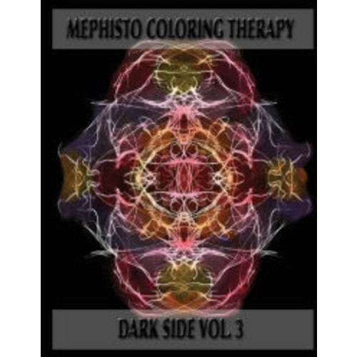 Mephisto Colorin Therapy Dark Side Volume 3: Adult Coloring Book